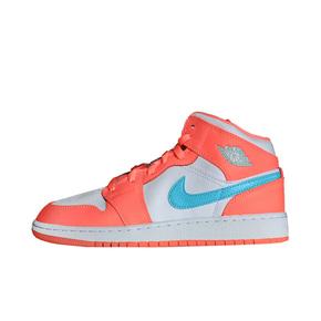 Air Jordan 1 Mid AJ1 甜橙冰淇淋中帮女鞋