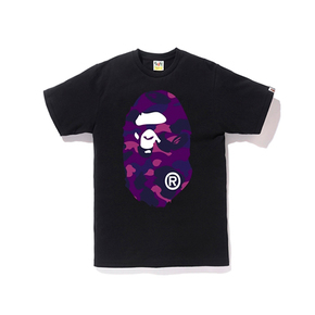 BAPE COLOR CAMO BIG APE TEE 经典款双面迷彩大猿