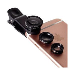 Owltech 微距+广角+鱼眼 超实用手机外接镜头组