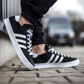 Adidas CourtVantage 黑白 S7930