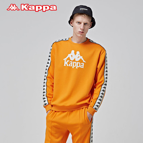 KAPPA卡帕BANDA串标情侣男女套头衫 K08Y2WT62M-596