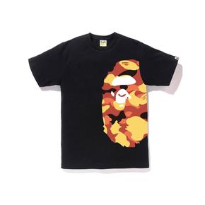 BAPE 1ST CAMO SIDE BIG APE TEE侧面迷彩大猿人头T恤