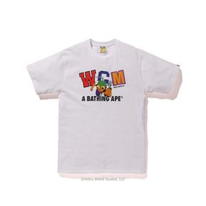 BAPE HEBRU BRANTLEY联名限量款T恤