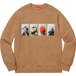 Supreme x mike kelley ahh...youth!卫衣