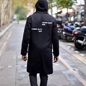 Supreme x CDG 18fw 羊毛大衣