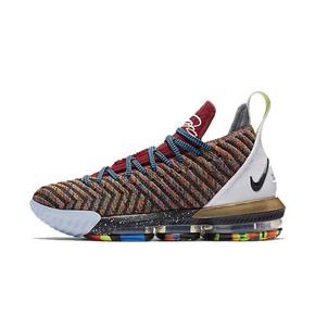"Nike LeBron 16 ""1 Thru 5""詹姆斯16代鸳鸯篮球鞋 BQ6580-900(2018.9.15发售)"