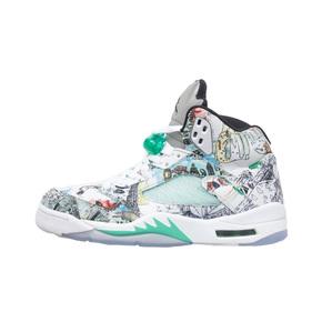 Air Jordan 5 Wings AJ5 翅膀涂鸦 篮球鞋