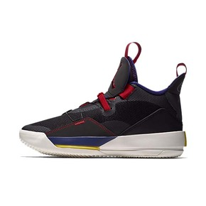 Air Jordan 33 AJ33 黑紫 篮球鞋
