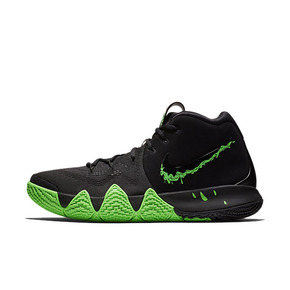 Nike Kyrie 4 Halloween万圣节黑绿 943806-012(2018.10.13发售)