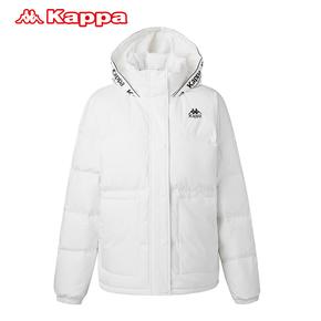KAPPA卡帕羽绒服防寒服连帽K0862YY51D-012