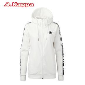 KAPPA卡帕2018秋款女子运动开衫帽衫卫衣K0862MK58D-001