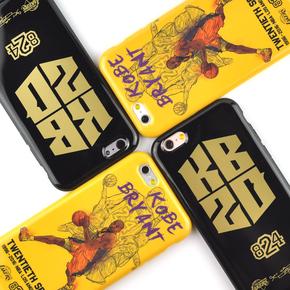 【定制】Kobe 20年限量纪念版 软硅胶手机壳 苹果6s/6plus