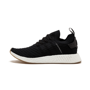 Adidas NMD R2 Boost 黑白 BY9696