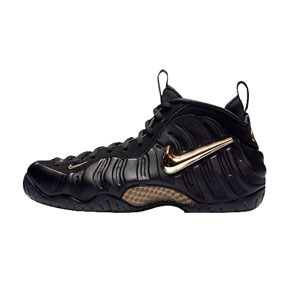 Nike Air Foamposite 液态 黑金泡 篮球鞋 624041-009(2018.11.17发售)