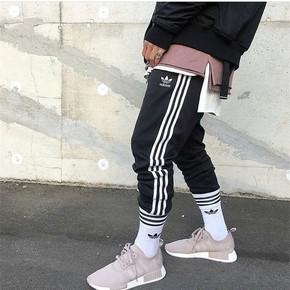 Adidas 阿迪达斯三叶草 男款休闲运动裤 长裤 CW1275
