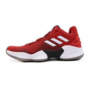 Adidas Pro Bounce 2018 Low愤怒小鸟低帮篮球鞋白红色B41868