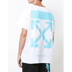 Off-White 法国蓝短袖
