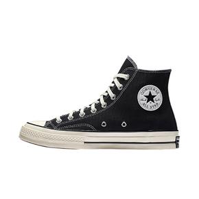 Converse 匡威 1970s 经典帆布鞋三星标 黑高 162050C