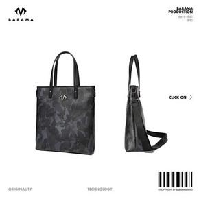 Babama新款时尚手提包潮牌迷彩斜挎包运动休闲单肩包男包旅行大包