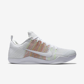 "断码特惠!Kobe 11 Elite Low 4KB ""White Multicolor"" 824463-199"