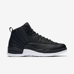 "44.5码秒价!Air Jordan 12 ""Black Nylon"" 130690-004"