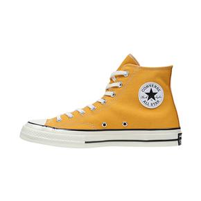Converse匡威 1970s三星标经典黄色高帮帆布鞋男女情侣款162054C