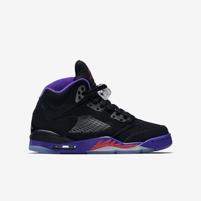Air Jordan 5 GS Retro Raptors  黑紫 440892-017