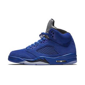 "Air Jordan 5 ""Blue Suede"" AJ5蓝麂皮 440888-401"