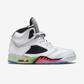 "Air Jordan 5  ""ProStars"" 毒液 136027-115"