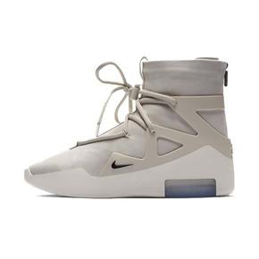 Nike Air Fear Of God 1 FOG联名款篮球鞋 米色AR4237-002(2018.12.15发售)