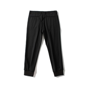 PRAGMATY 16AW 优质正装工艺JOGGER 精纺羊毛收口裤