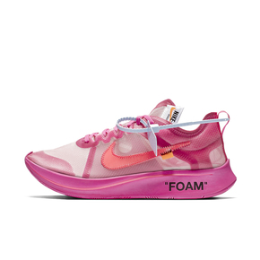 "OFF-WHITE x Nike Zoom Fly SP ""Tulip Pink"" AJ4588-600(2018.11.28日发售)"