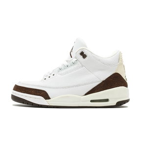 "Air Jordan 3 ""Mocha"" AJ3摩卡白咖啡爆裂纹 篮球鞋 136064-122(2018.12.15发售)"