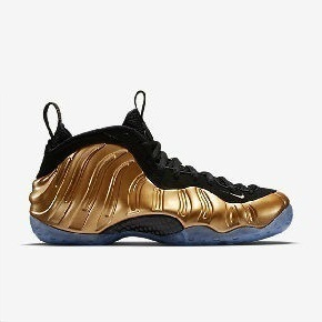 "FoamPosite One ""Gold""配色 314996-700"