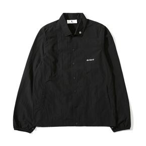 NL23HOOD 3M 纯黑色反光 单面薄款 教练夹克