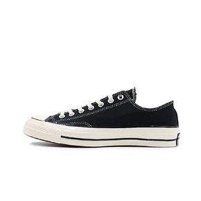 Converse/匡威1970s 三星标帆布鞋黑白高帮低帮 162058C