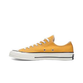 Converse匡威1970s三星标帆布鞋 黄高 黄低162063C