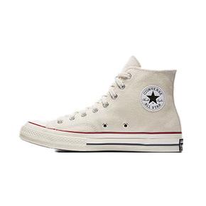 Converse匡威1970s三星标米白色高帮男女鞋 帆布鞋 162053C
