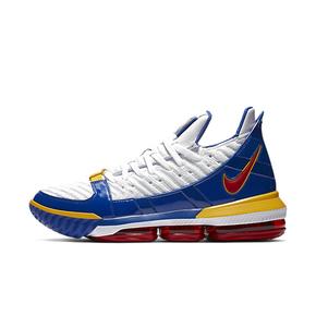 Nike LeBron 16 Watch SuperBron LBJ16 超人篮球鞋 CD2450-100(2018.12.26日发售)