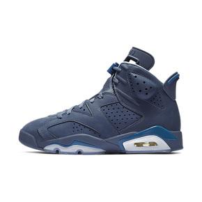AIR JORDAN 6 篮球鞋 AJ6 吉米巴特勒 森林狼黑曜石蓝 384664-400