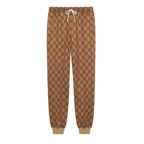 GUCCI 19SS 平纹针织慢跑长裤