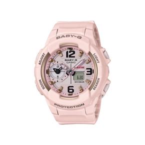 卡西欧(CASIO)手表防水防震两地时时尚潮流手表BGA-230SC-4BPR