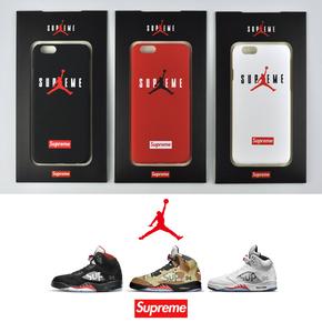 【定制】Supreme X Air Jordan 新款7代上线 磨砂硬壳手机壳
