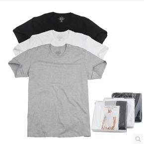 ck 短袖圆领打底衫3件装