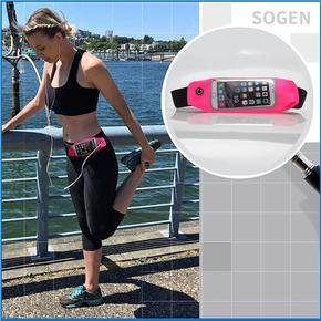SOGEN 高弹性运动腰包 透视可触屏