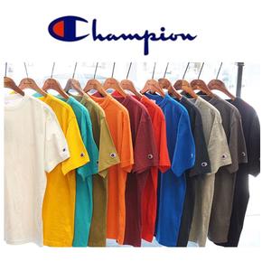 Champion cotton 6.1oz 冠軍棉質純色基礎打底衫短袖T恤