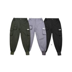 FLAM 2016A/W BASIC立体多口袋工装束脚长裤