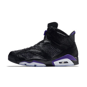 Air Jordan 6 NRG AJ6 马毛 蛇纹 全明星 黑紫 篮球鞋 AR2257-005(2019.2.21日发售)