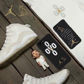 【定制】Drake猫头鹰OVO X Air Jordan 新款7代上线 磨砂硬壳手机壳