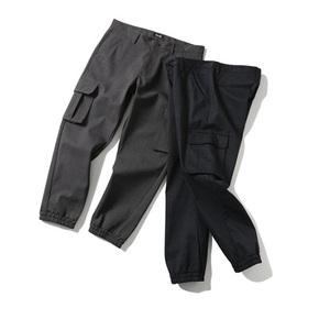 PRAGMATY JOGGER工装多袋防风裤日本羊毛复合面料